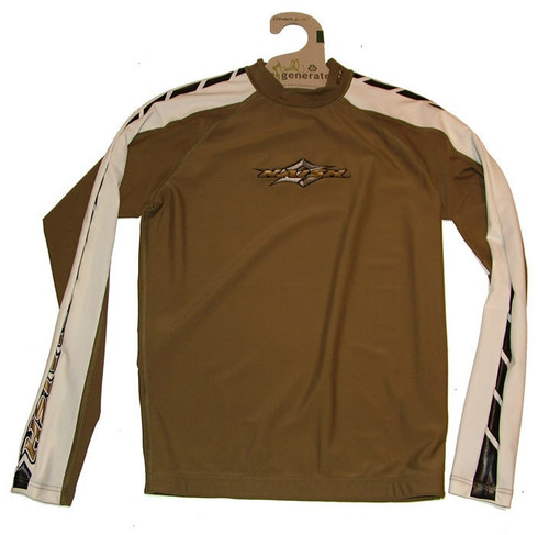 Naish Long Sleeve Khaki Rash Vest