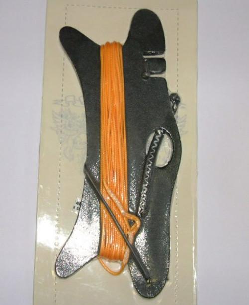 Naish double depower orange line