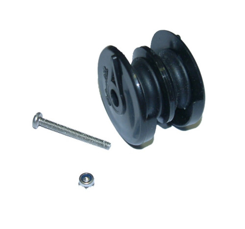 double pulley outhaul