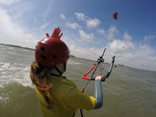 Day one kitesurf lesson with Nomadic Kitesurf