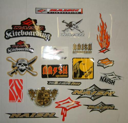 Naish Kiteboarding Sticker Pack