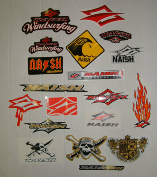 Naish Windsurfing Sticker Pack