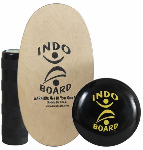 Original Indo Board Training Pack with Medium Roller & IndoFLO Cushion