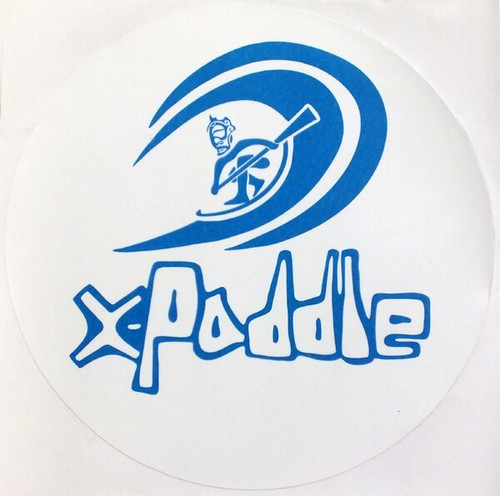 Xpaddle Round Sticker