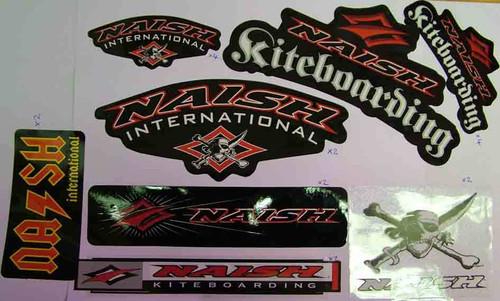Naish kiteboard dark side sticker pack