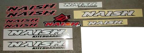 Naish Van Sticker Pack