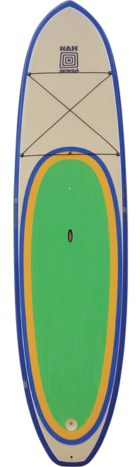 Nah Skwell Well 10'8 SUP 2014 - Shown to illustrate green colourway.  Kool does not have a cargo net.
