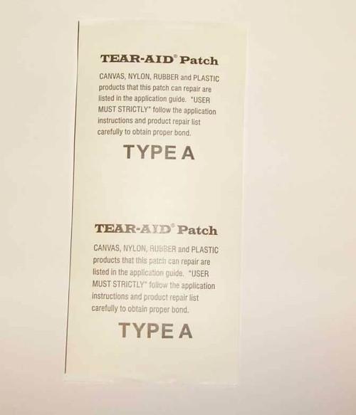 Tear-Air Patch 6 inch x 3 inch