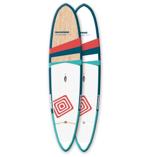 "Nah-Skwell 2016 Longboard 10' x 28 3/4"" x 4"""