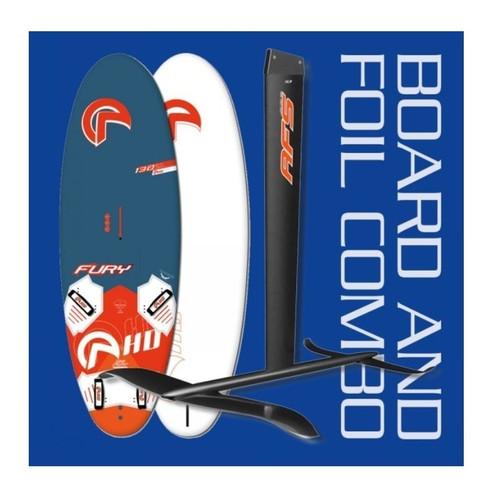 Fury Freeride Windsurf Board + AFS W85 Carbon Windfoil