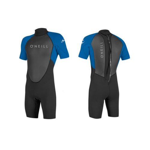 O'neill 2018 Reactor2 2/2mm Back Zip Shorty Wetsuit
