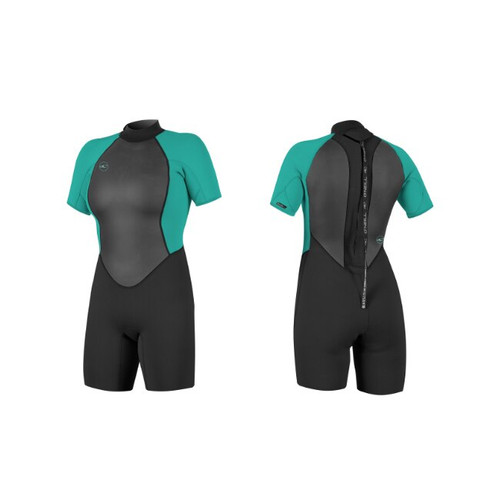 O'neill Womens Reactor Wetsuit 2 2mm Shorty Wetsuit