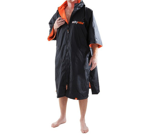 Dryrobe Advance Changing Robe Black Orange