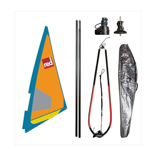 Red Paddle Ride Dacron Windsurf Rig