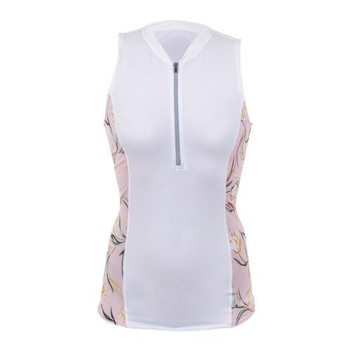O'neill Womens Front-Zip Cap Sleeve Sun Shirt