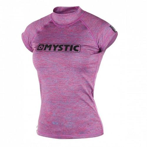 Mystic Star S/S Rashvest Women - Pink Mariee