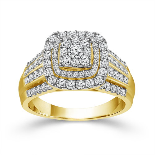 14K Yellow Gold 2.00 ct Women's Engagement Ring