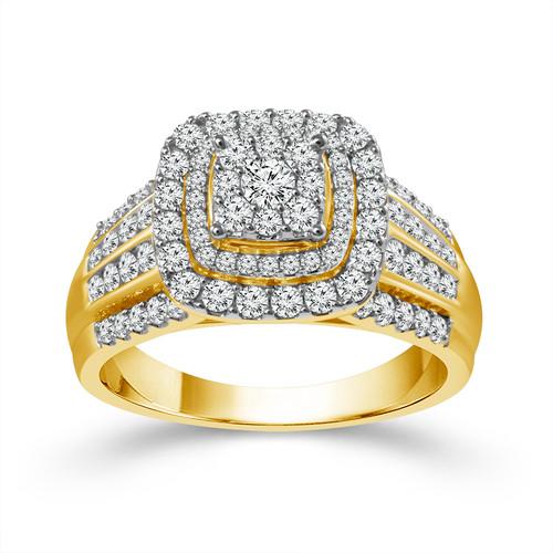 14k Yellow Gold 2.00 ct Women's Engagement Ring