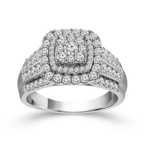 10K White Gold 2.00 ct Women's Engagement Ring