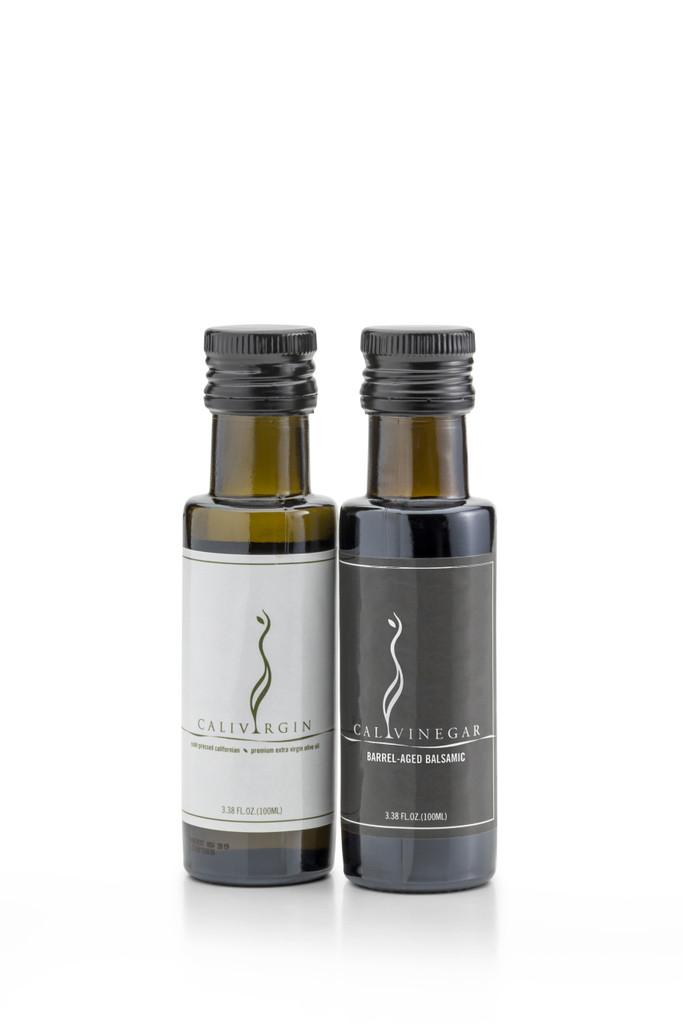 Olive Oil and Balsamic Gift Bag Set - 100 ML