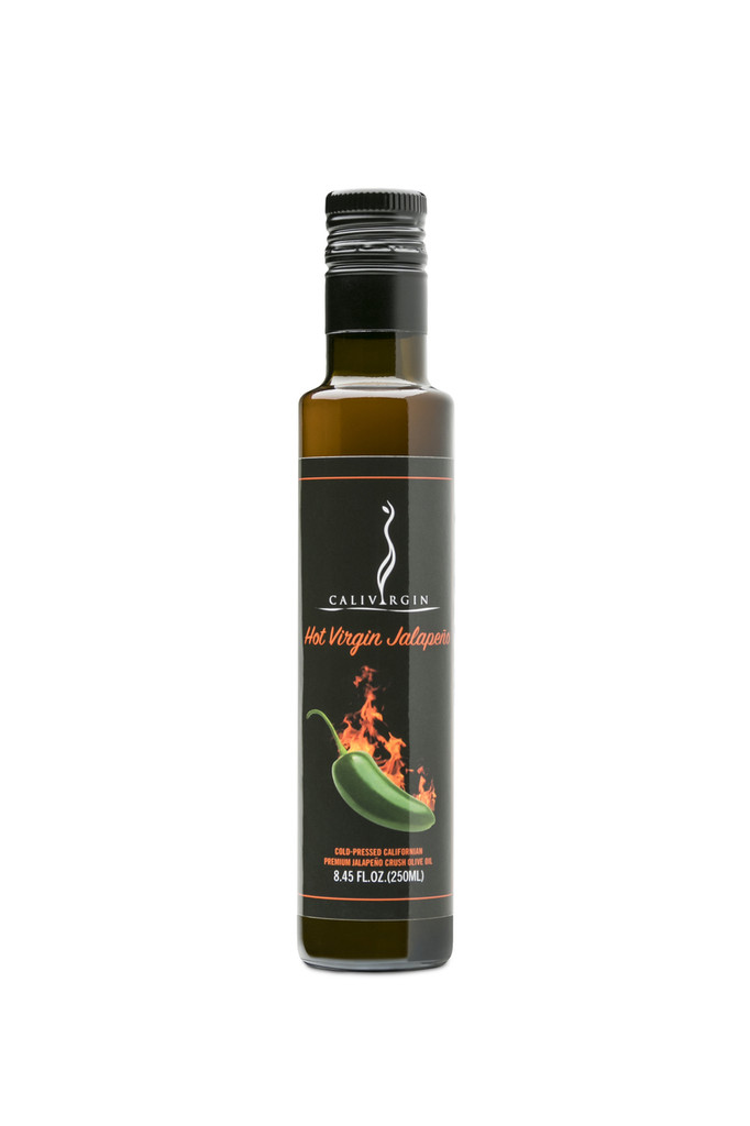 Calivirgin Hot Virgin Jalapeno Olive Oil - 250 ML