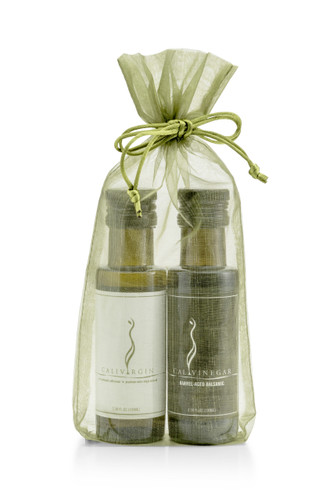 Olive Oil and Balsamic Gift Bag Set - 100 ML