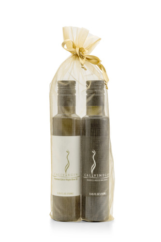 *New* Olive Oil and Balsamic Gift Bag Set - 250 ML