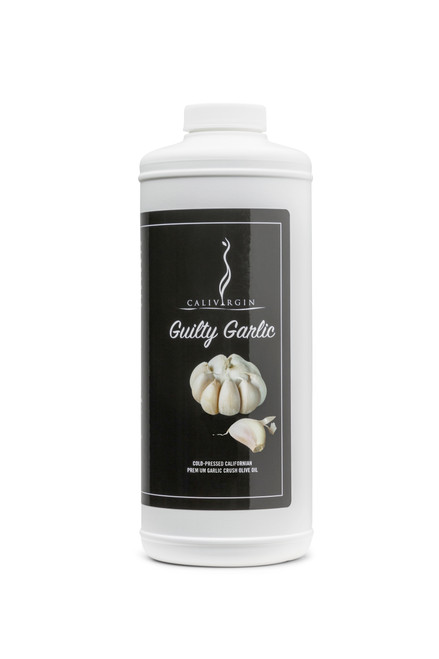 (FLASH SALE) Guilty Garlic One Liter Bottle - Calivirgin Olive Oil