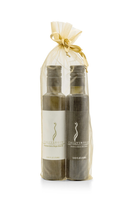 Olive Oil and Balsamic Gift Bag Set - 250 ML