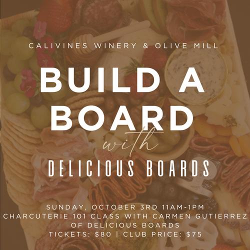 Build a Board Charcuterie Class