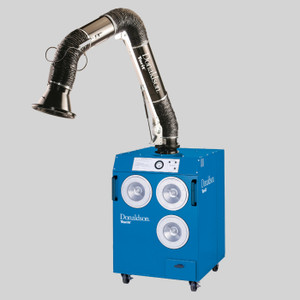 "Donaldson Torit Easy-Trunk Weld Fume Collector with 6"" x 10' Arm, 5918515"