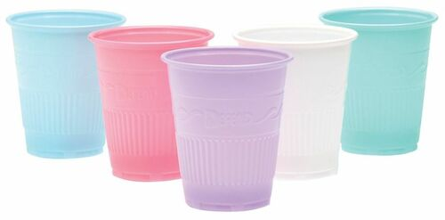 AllSmiles Plastic Drinking Cups 5oz Grey, 1000/Case