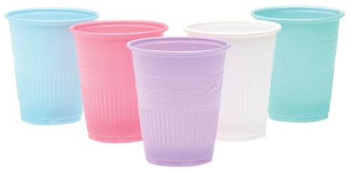 AllSmiles Plastic Drinking Cups 5oz Mauve, 1000/Case
