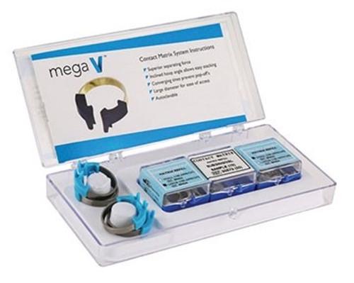 Mega Wedges, SmL,Blue, Bag/100