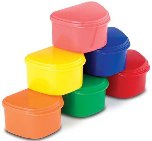 M&S Denture Cup Assorted Colors 12/Pkg