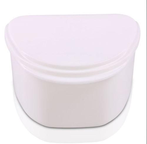 M&S Denture Cup White Color 12/Pkg