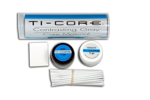 Ti-Core Build-Up Material W/ Fluoride Gray