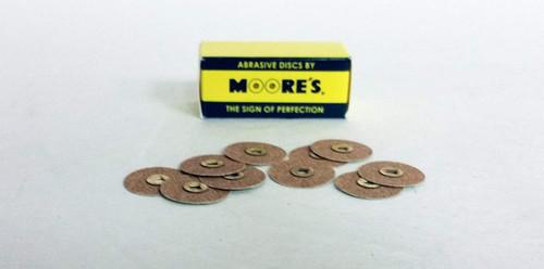 Moore Disc Garnet 3/4   Fine Bx/100