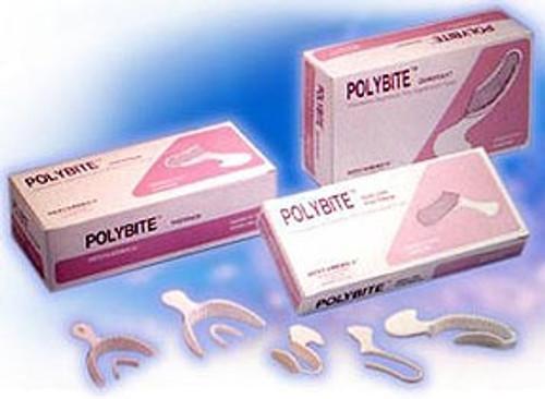 Polybite Disposable Bite Trays (Quadrant, 35 Pieces/Box)