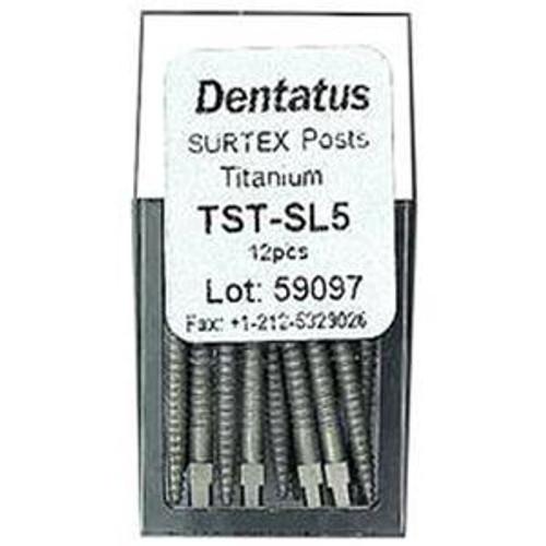 Dentatus-Type Titanium Screw Post Rfl. L4 6/Pk