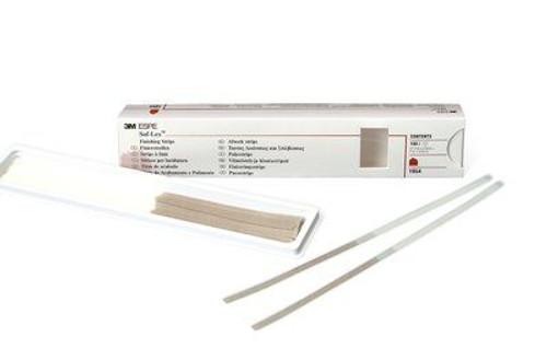 """Sof-Lex Finishing Strips - Nrrw Crse/Med, 100/Pkg (7"""" X 5/6"""
