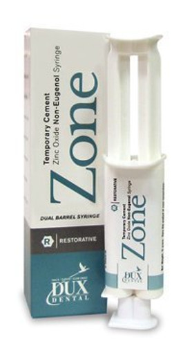 Zone Free  Temporary Cement 4Grm Syringe Clear