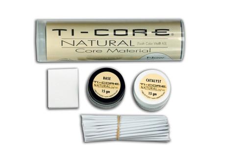 Ti-Core Build-Up Material W/ Fluoride Natural Shade Vita A3