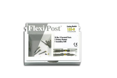 Flexi-Post Refills T Yellow/Size 0 10/Pk