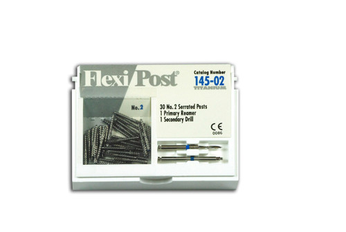 Flexi-Post Economy Refills T  Blue/Size 2 30/Pk