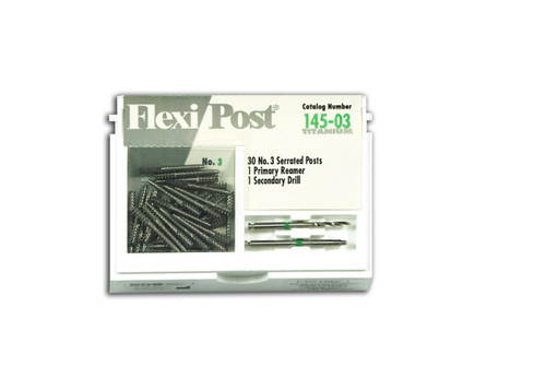 Flexi-Post Economy Refills T Green/Size 3 30/Pk