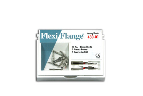 Flexi-Flange Refills SS Red/Size 1 10/Pk