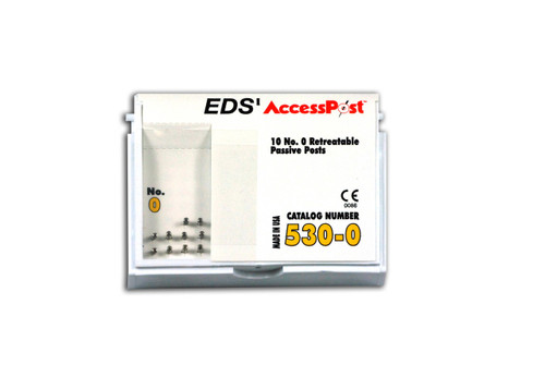Accesspost Refills Yellow/Size 0 10-Posts