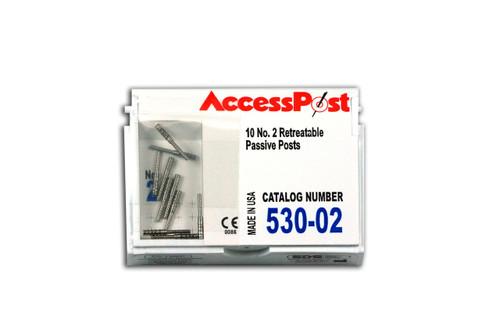 Accesspost Refills Blue/Size 2 10-Posts
