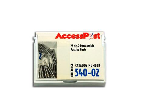 Accesspost Economy Refills Blue/Size 2 25-Posts